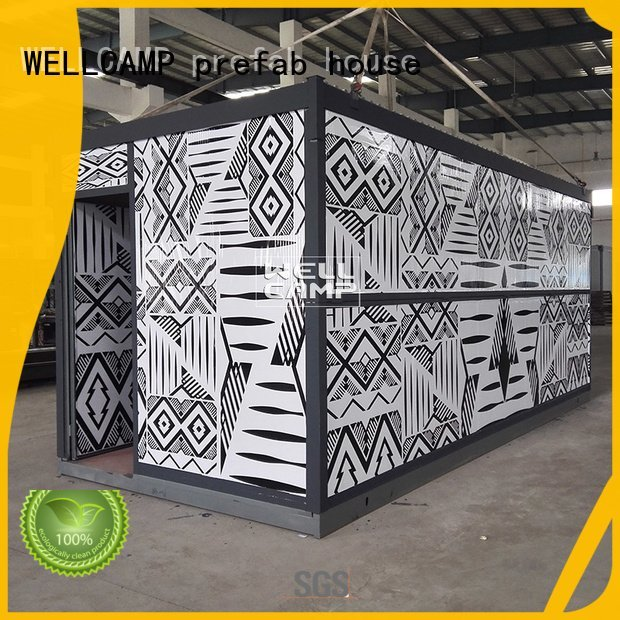 foldable container house outdoor eco folding container house Warranty