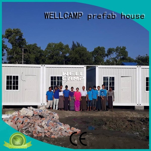WELLCAMP, WELLCAMP prefab house, WELLCAMP container house Brand c17 premade detachable container house manufacture