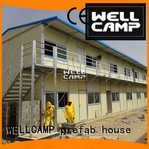 sandwich mobile economic WELLCAMP, WELLCAMP prefab house, WELLCAMP container house prefab houses