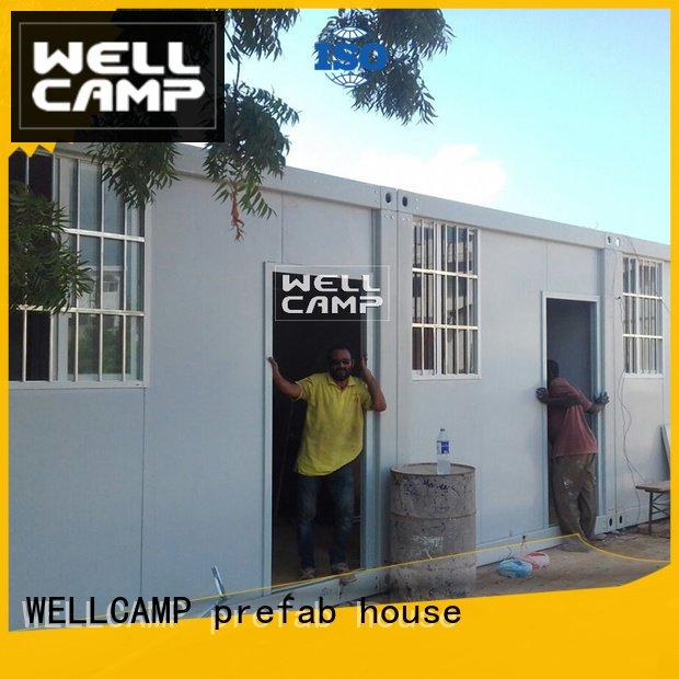 c6 ieps WELLCAMP, WELLCAMP prefab house, WELLCAMP container house detachable container house