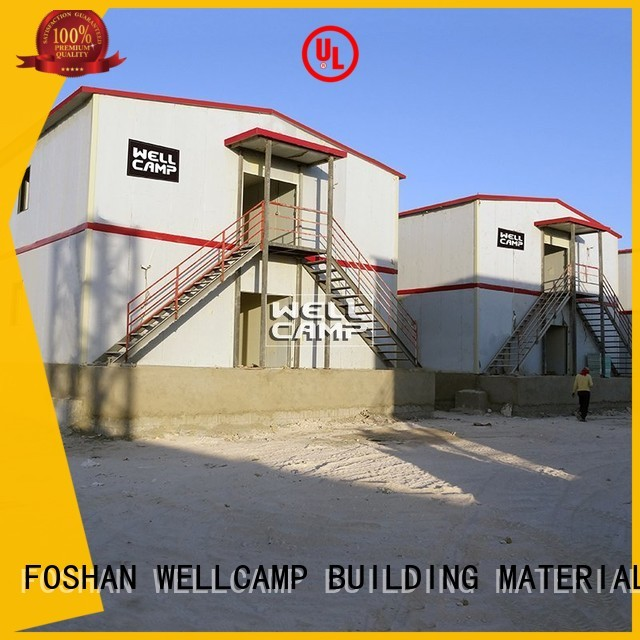 Quality WELLCAMP, WELLCAMP prefab house, WELLCAMP container house Brand delicated classroom prefab houses for sale