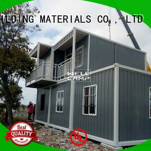 fast modern container house c11 WELLCAMP, WELLCAMP prefab house, WELLCAMP container house company