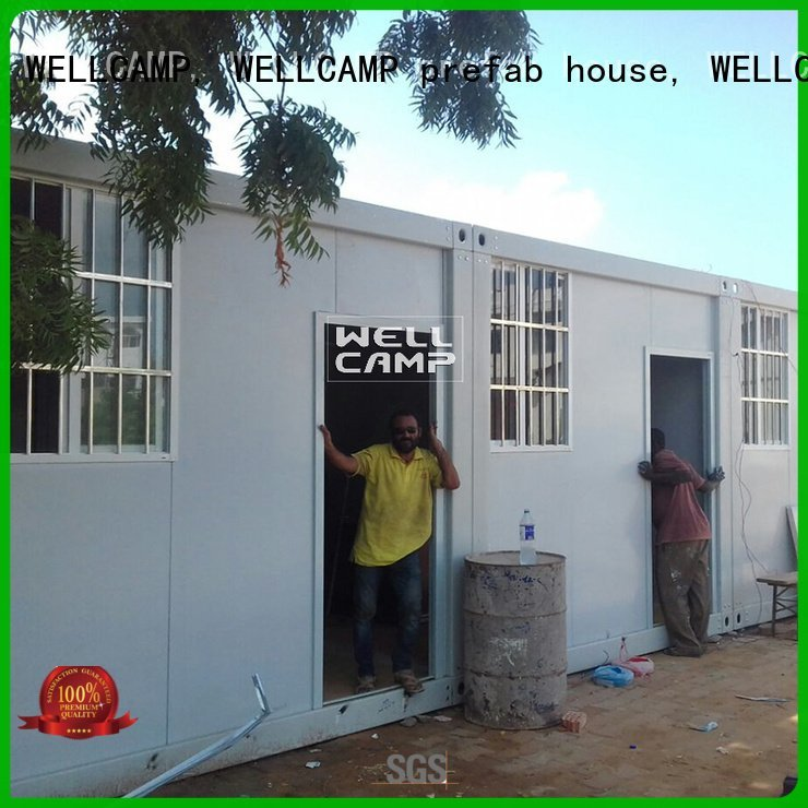 WELLCAMP, WELLCAMP prefab house, WELLCAMP container house Brand design modern container house
