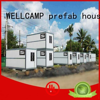 color panel sandwich folding container house f7 WELLCAMP, WELLCAMP prefab house, WELLCAMP container house Brand