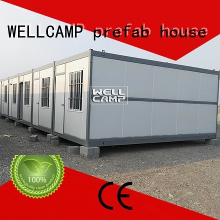 outdoor folding container house low WELLCAMP, WELLCAMP prefab house, WELLCAMP container house company