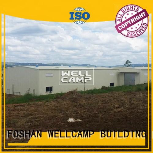 prefab warehouse s7 s1 steel warehouse durable WELLCAMP, WELLCAMP prefab house, WELLCAMP container house Brand