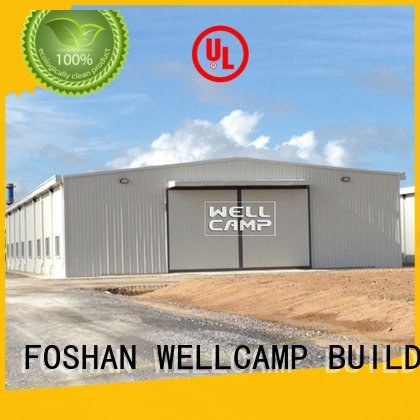 WELLCAMP, WELLCAMP prefab house, WELLCAMP container house panel brick steel warehouse