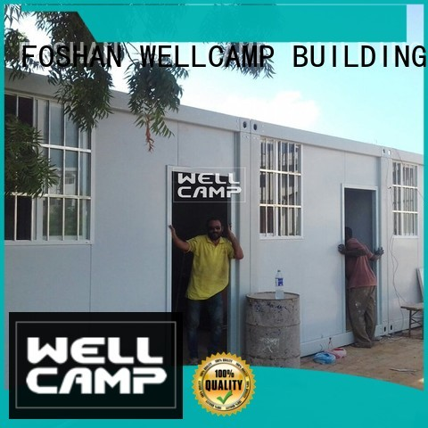 sandwich modern container house living WELLCAMP, WELLCAMP prefab house, WELLCAMP container house company