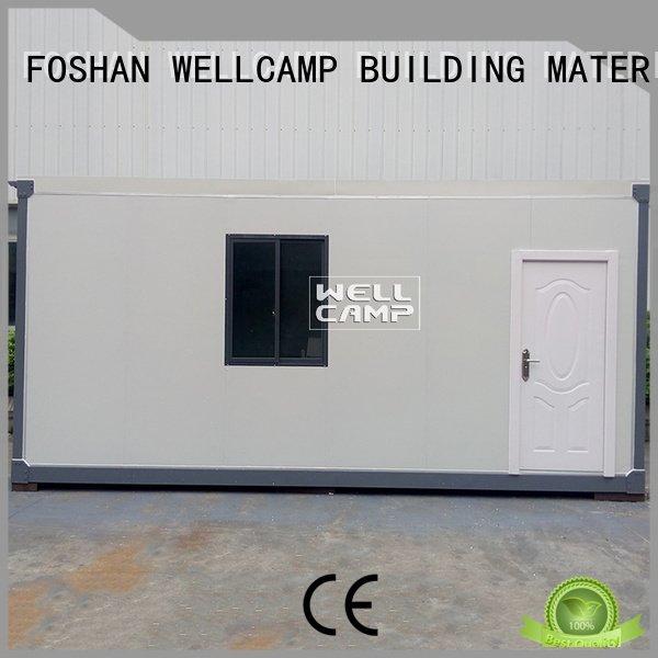 WELLCAMP, WELLCAMP prefab house, WELLCAMP container house modern container house c16 c10 design