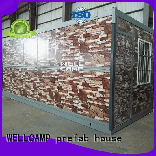 foldable container house move WELLCAMP, WELLCAMP prefab house, WELLCAMP container house Brand folding container house