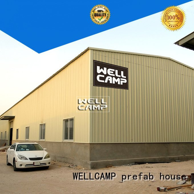 Custom durable steel warehouse panel prefab warehouse