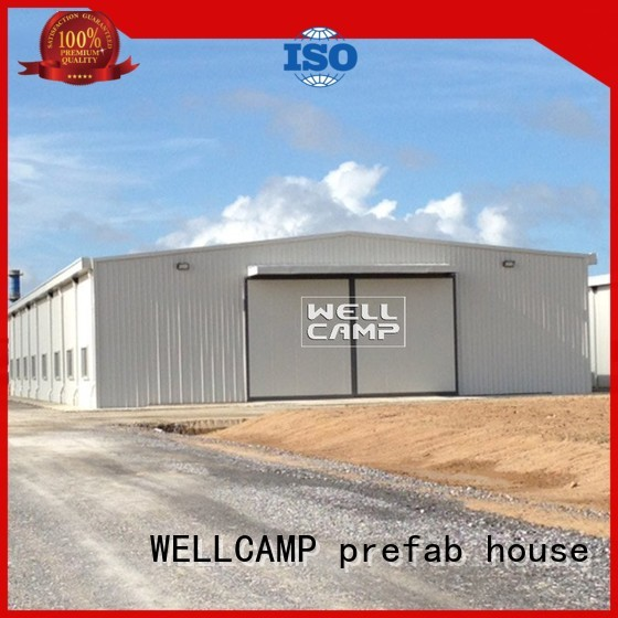 prefab warehouse standard warehouse steel warehouse WELLCAMP, WELLCAMP prefab house, WELLCAMP container house Brand