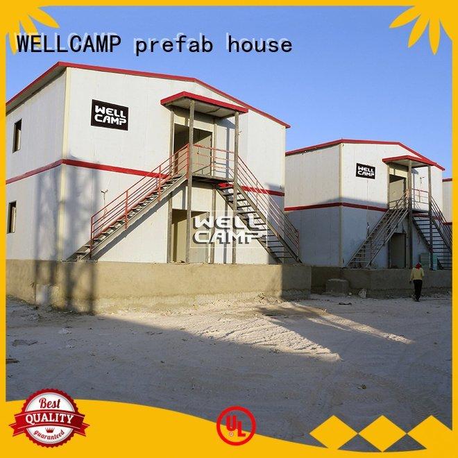 Custom prefab houses for sale classroom delicated t8 WELLCAMP, WELLCAMP prefab house, WELLCAMP container house