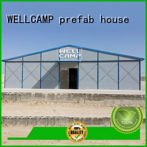 prefabricated houses china price dormitory homes panel green