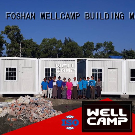 goods fast modern container house WELLCAMP, WELLCAMP prefab house, WELLCAMP container house