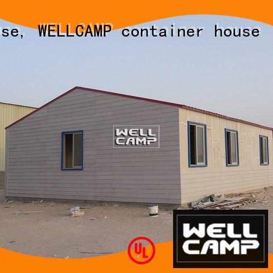 Prefabricated Concrete Villa concrete cv1 modular house WELLCAMP, WELLCAMP prefab house, WELLCAMP container house Brand