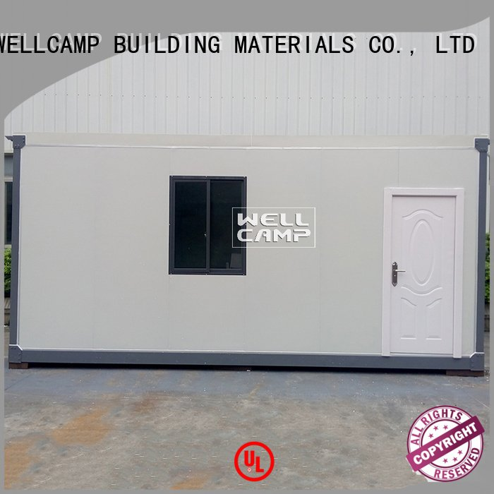 Hot modern container house apartment detachable container house 20ft WELLCAMP, WELLCAMP prefab house, WELLCAMP container house