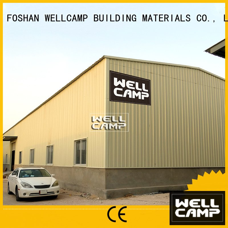 Wholesale wellcamp s5 steel warehouse WELLCAMP, WELLCAMP prefab house, WELLCAMP container house Brand