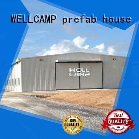 wall steel warehouse shed structure