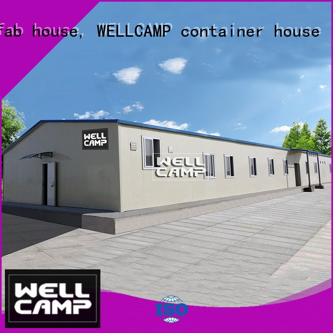 Wholesale mobile house prefab houses for sale WELLCAMP, WELLCAMP prefab house, WELLCAMP container house Brand