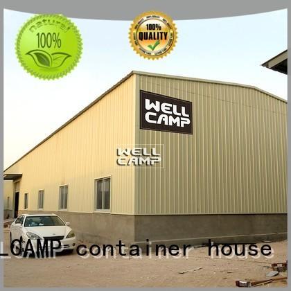 prefab warehouse wellcamp steel warehouse WELLCAMP, WELLCAMP prefab house, WELLCAMP container house Brand