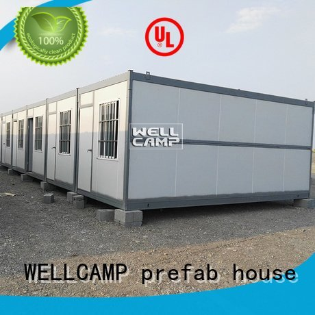 mobile c12 foldable container house WELLCAMP, WELLCAMP prefab house, WELLCAMP container house Brand