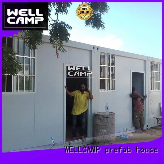 20ft c10 design detachable container house WELLCAMP, WELLCAMP prefab house, WELLCAMP container house Brand company