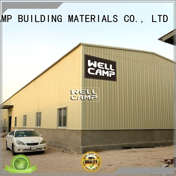 prefab warehouse large s1 steel WELLCAMP, WELLCAMP prefab house, WELLCAMP container house Brand steel warehouse