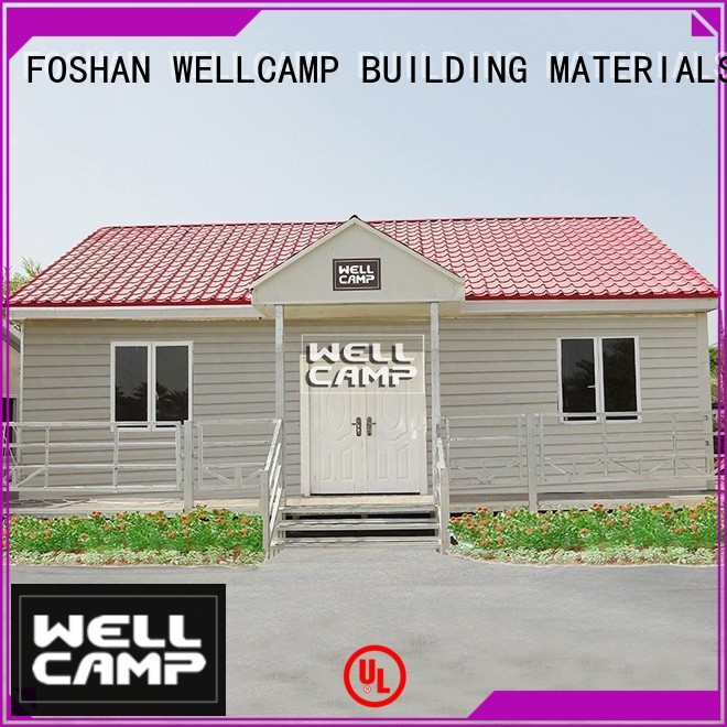 cv6 modular house building WELLCAMP, WELLCAMP prefab house, WELLCAMP container house company
