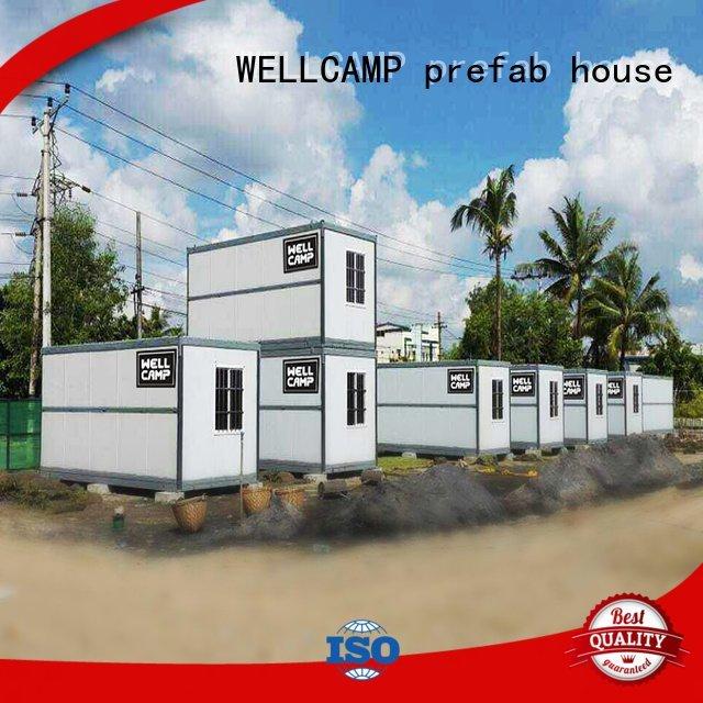 panel f6 rock WELLCAMP, WELLCAMP prefab house, WELLCAMP container house foldable container house