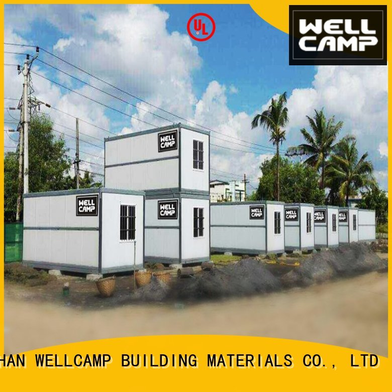 wool c12 folding folding container house prefab WELLCAMP, WELLCAMP prefab house, WELLCAMP container house