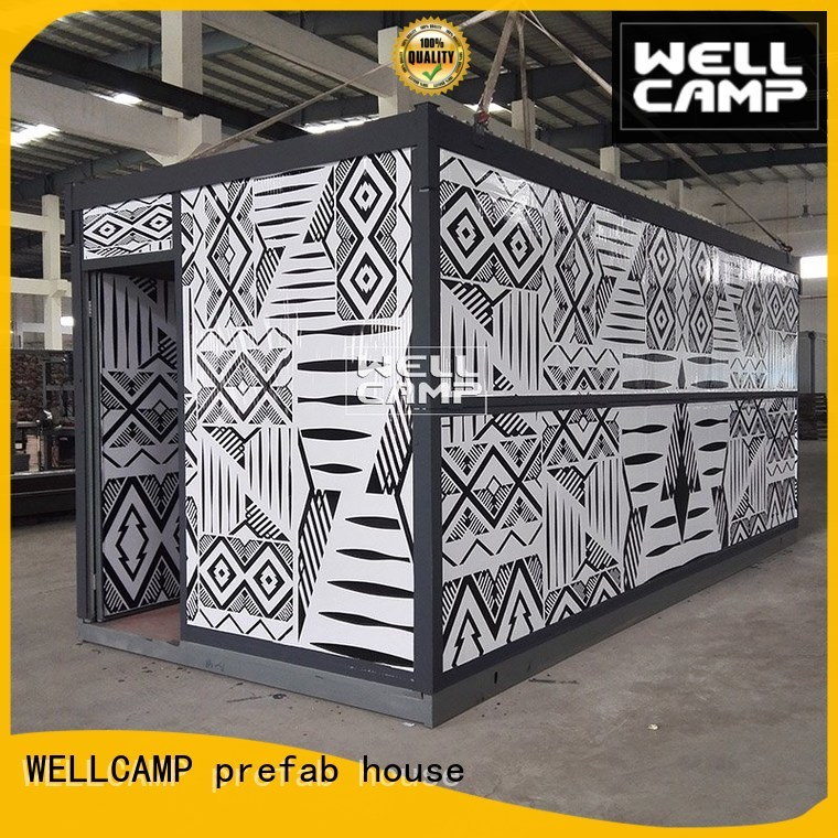 container low panel folding container house WELLCAMP, WELLCAMP prefab house, WELLCAMP container house Brand company