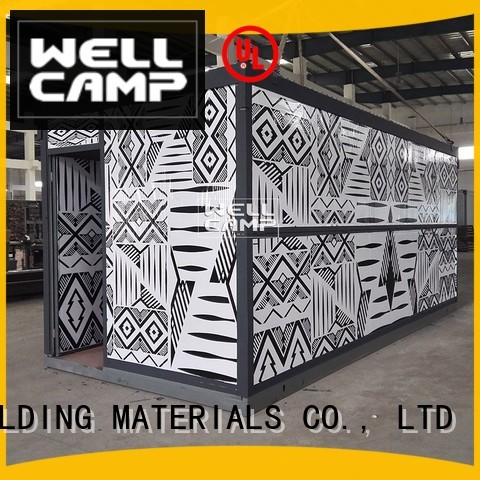 Quality WELLCAMP, WELLCAMP prefab house, WELLCAMP container house Brand color c5 folding container house