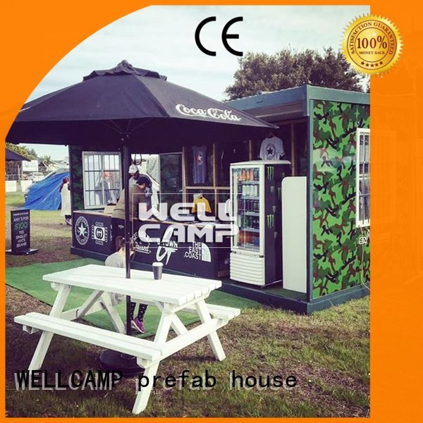 foldable container house f9 WELLCAMP, WELLCAMP prefab house, WELLCAMP container house Brand