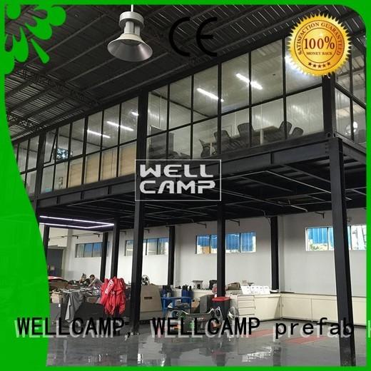 detachable c13 c12 WELLCAMP, WELLCAMP prefab house, WELLCAMP container house Brand modern container house factory
