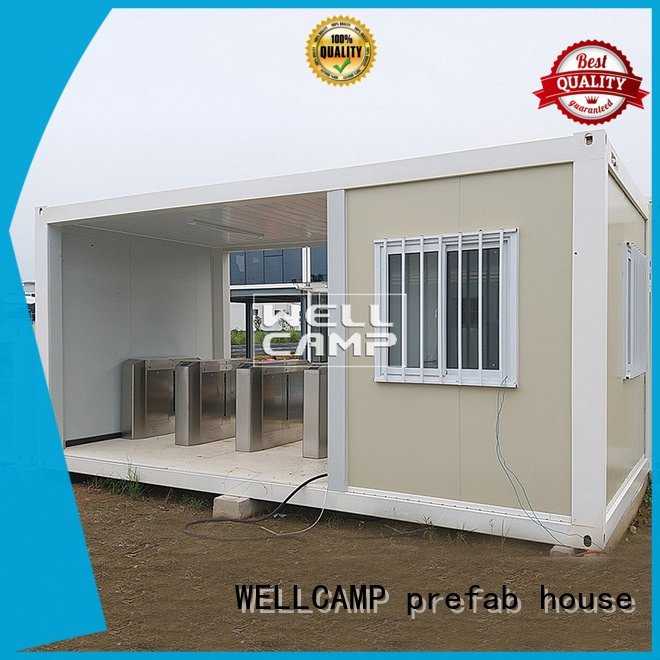 flat pack storage container pack flat pack container house WELLCAMP, WELLCAMP prefab house, WELLCAMP container house Brand