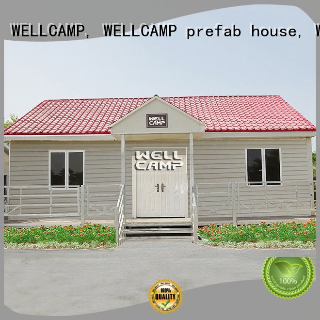 WELLCAMP, WELLCAMP prefab house, WELLCAMP container house Brand prefab Prefabricated Concrete Villa style cv5