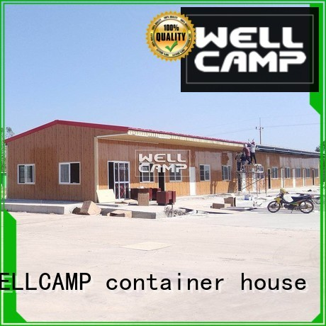 modular prefabricated house suppliers modern green Bulk Buy students WELLCAMP, WELLCAMP prefab house, WELLCAMP container house