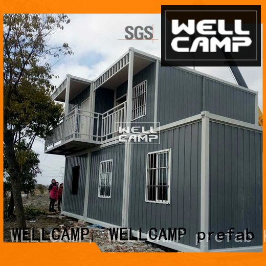 two c9 design WELLCAMP, WELLCAMP prefab house, WELLCAMP container house modern container house