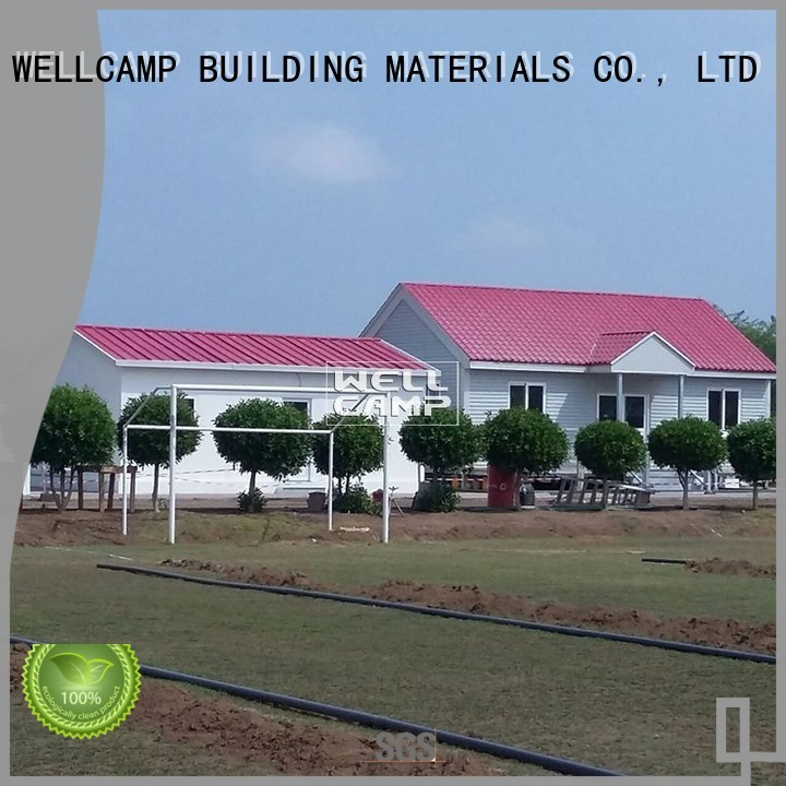 WELLCAMP, WELLCAMP prefab house, WELLCAMP container house Brand wellcamp modular house amazing factory