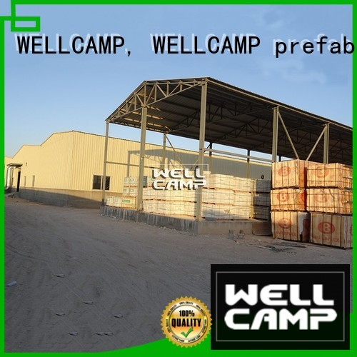 Quality WELLCAMP, WELLCAMP prefab house, WELLCAMP container house Brand prefab warehouse standard