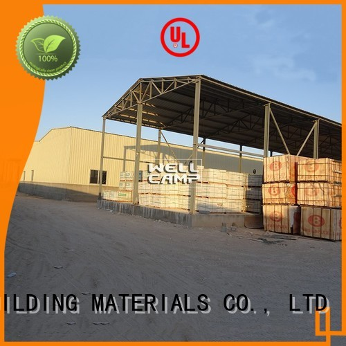 WELLCAMP, WELLCAMP prefab house, WELLCAMP container house Brand project s8 prefab warehouse chicken supplier