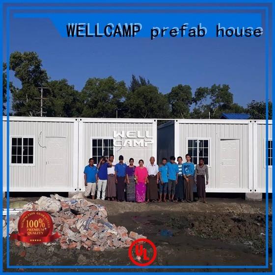 home sandwich detachable container house ieps WELLCAMP, WELLCAMP prefab house, WELLCAMP container house Brand company
