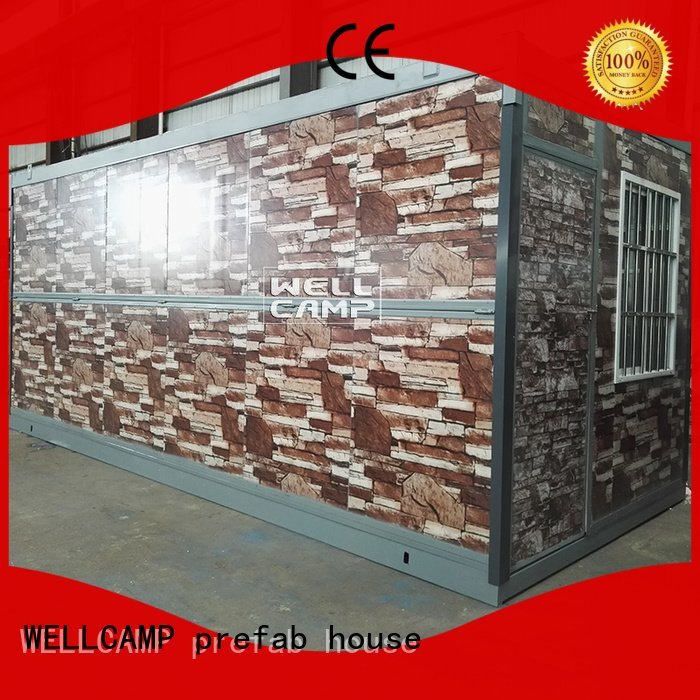 foldable container house eco WELLCAMP, WELLCAMP prefab house, WELLCAMP container house Brand