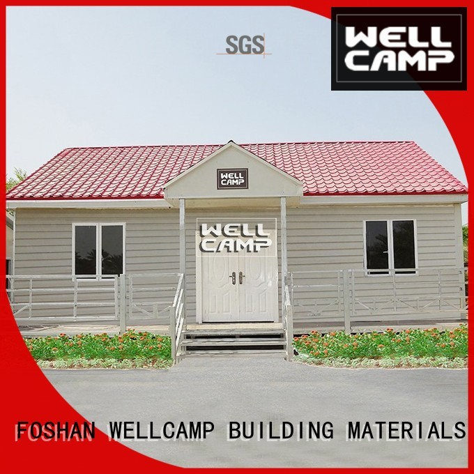 prefabricated wellcamp sandwich panel Prefabricated Concrete Villa WELLCAMP, WELLCAMP prefab house, WELLCAMP container house Brand