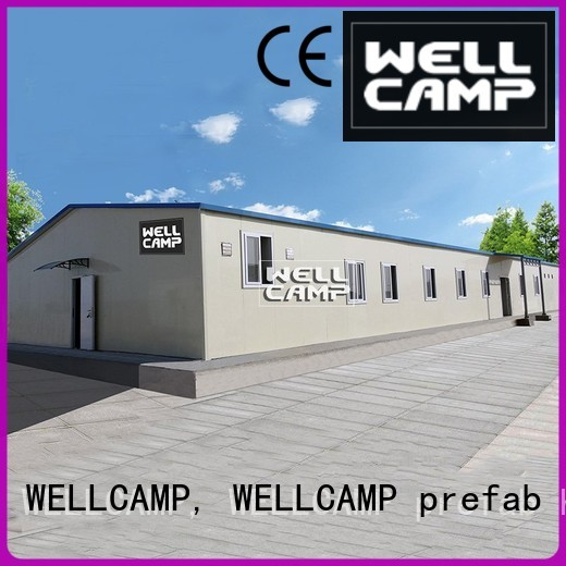 camp floor WELLCAMP, WELLCAMP prefab house, WELLCAMP container house Brand prefab houses for sale