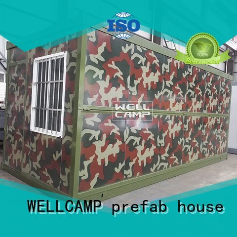 sandwich eco c3 folding container house WELLCAMP, WELLCAMP prefab house, WELLCAMP container house