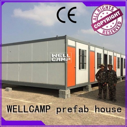 foldable container house builder WELLCAMP, WELLCAMP prefab house, WELLCAMP container house Brand folding container house