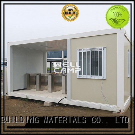 flat pack storage container container WELLCAMP, WELLCAMP prefab house, WELLCAMP container house Brand flat pack container house
