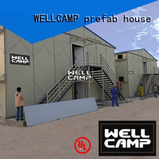 Wholesale cost modular prefab houses WELLCAMP, WELLCAMP prefab house, WELLCAMP container house Brand